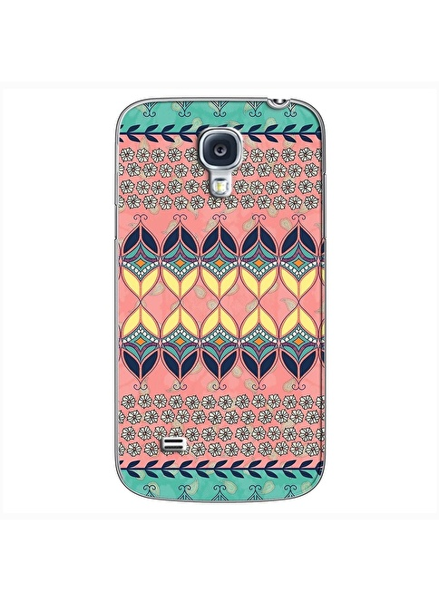 People's Cover Samsung S4 Mini Kabartmalı Kapak Renkli